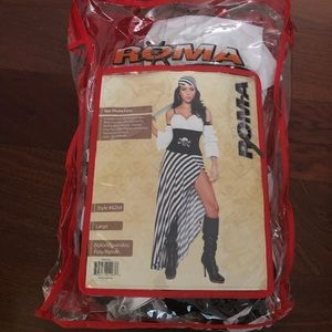 Roma Halloween costume pirate lass large